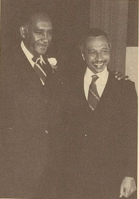 Clarence Mitchell, Jr. and Parren Mitchell, not dated, Clarence Mitchell, Jr. Funeral Program, March 23, 1984, MdHS, MS 3092.