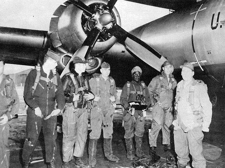 Herbert Frisby and the crew of the B-29 just before the flight that took Frisby directly over the geographic North Pole. Frisby dropped a steel box containing a U.S. flag and a bronze memorial plaque to Matthew Henson, the first African-American to reach the geographic North Pole. The geographic North Pole is the northernmost point of the earth, and is the direction of true north. The North magnetic pole is the point where the earth's magnetic field points vertically downward and is where traditional magnetic compasses point towards. The magnetic pole is located some 200 miles south of the geographic North Pole and is constantly moving.