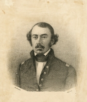 Plumbeotype of Lieutenant Colonel William H. Watson, undated. CC2873, Works on Paper, MdHS.