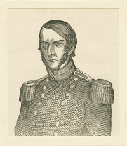 Brevet Major Samuel Ringgold was killed in the Battle of Palo Alto. Small Prints, Ringgold, Major Samuel, MdHS.