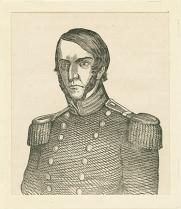 Brevet Major Samuel Ringgold was killed in the Battle of Palo Alto. Small Prints, Ringgold, Major Samuel, MdHS.