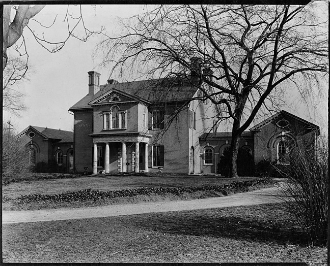 Mount Clare House, ca 1915, MdHS, SVF.
