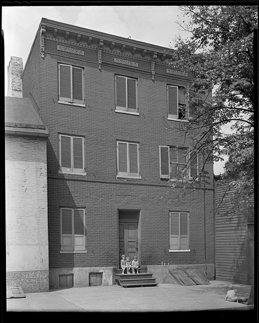 Robert Long House, ca 1930, Hughes Company, MdHS, SVF.