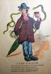 """Jim-Jams,"" ca. 1840-1910, MdHS, Valentine Ephemera, Series Z."