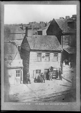 Sulzebacher House, ca 1865, MdHS, CC956.