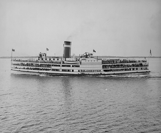 The Steamship Tolchester. Tolchester Photograph Collection, Maryland Historical Society, PP128-70a, no date.